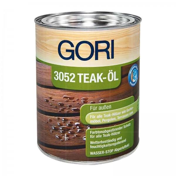 GORI 3052 TEAK-OEL - 0.75 LTR (FARBLOS)